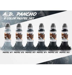 A.D. PANCHO Pastel Grey Set 1oz