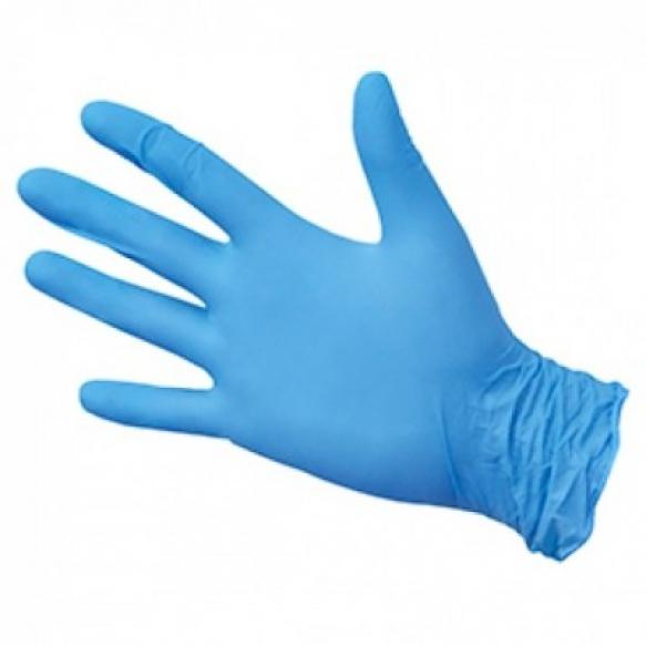 Перчатки нитриловые BLUE L