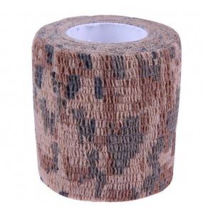 Бандажный бинт камуфляж коричневый