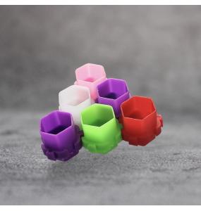 Колпачки для тату краски сборные 15 мм (50 шт)