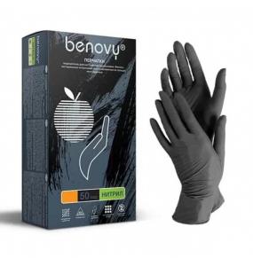 Перчатки BENOVY - BLACK - Size M
