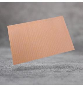 Ламинированая салфетка для столика. Оранжевая 3-х слойная