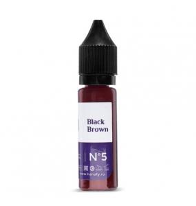 Hanafy Colours Pigments № 5 - Black Brown