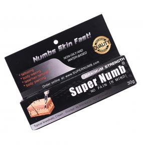 Super Numb - обезболивающий крем 30г