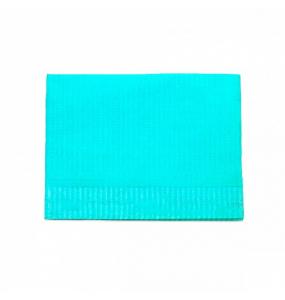 Ламинированая салфетка для столика. Синяя 3-х слойная