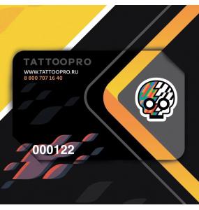 Подарочный сертификат TATOOPRO