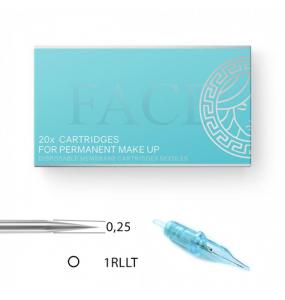 FACE Cartriges - 0,25/01RLLT